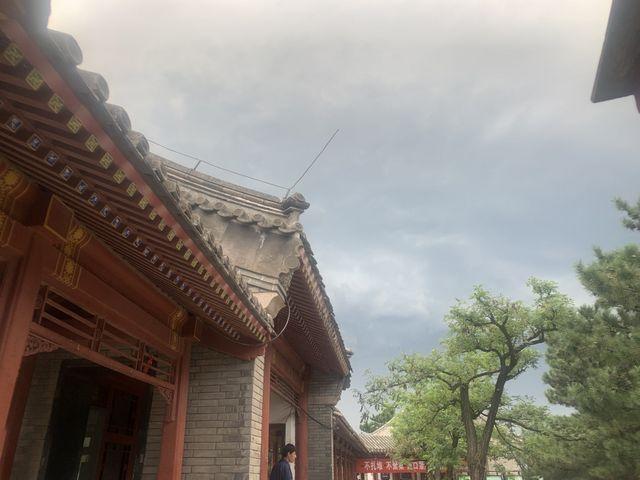 北京四合院的木雕 图案类型