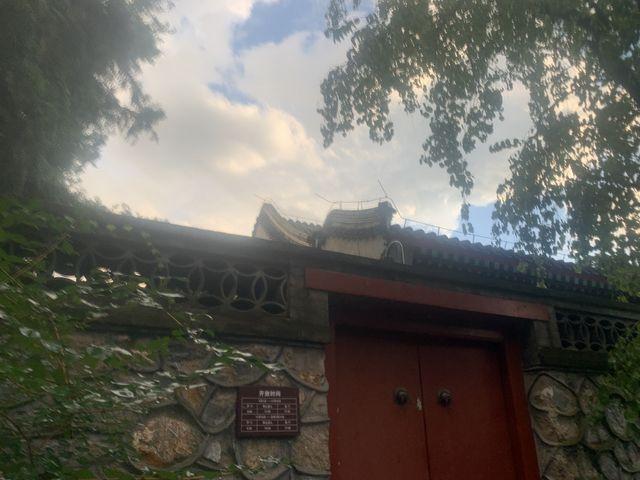 老北京四合院的院门